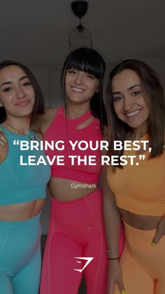 """""""Bring you best, leave the rest.""""  - Gymshark. Save this to your motivational board for a reminder! #Gymshark #Quotes #Motivational #Inspiration #Motivate #Phrases #Inspire #Fitness #FitnessQuotes #MotivationalQuotes #Positivity #Routine #HealthyMindset #Productive #Dreams #Planning #LifeGoals Motivational Board, Inspirational Quotes, Go For It, Bring It On, Sport Inspiration, Weight Management, Life Goals, Fitspiration, Motivationalquotes"""