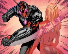 Iron Man vs. Moonstone by Neil Edwards