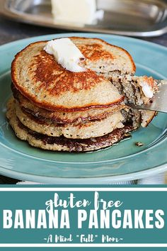 Lower Excess Fat Rooster Recipes That Basically Prime These Are The Best Gluten Free Pancakes Ever Simple Ingredients Are Blended Together To Create Fluffy And Naturally Sweet, Healthy Banana Oatmeal Pancakes. Gluten Free Recipes For Breakfast, Gluten Free Pancakes, Gluten Free Banana, Delicious Breakfast Recipes, Dairy Free Recipes, Baby Food Recipes, Yummy Food, Pancake Recipes, Toddler Recipes