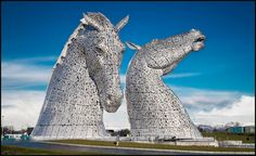 Scotland , Kelpies