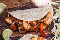 Grilled Shrimp Fajitas Shrimp Fajita Recipe, Mexican Shrimp Recipes, Shrimp Fajitas, Grilled Shrimp Recipes, Seafood Recipes, Best Cabbage Recipe, Cabbage Recipes, Fajita Marinade, Homemade Fajita Seasoning