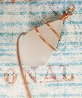 How to wire wrap sea glass
