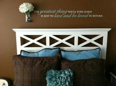 Cute couple's bedroom idea
