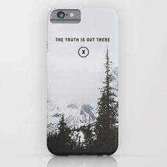 The+Truth+Is+Out+There+iPhone+&+iPod+Case+by+Sabrina+Volante+-+$35.00