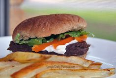 My family LOVES these burgers. Seriously.  #vegetarian recipes  #vegan recipes  #whole plant-based foods