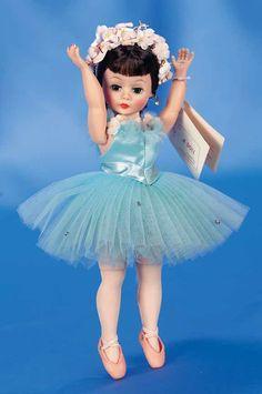 "cissette ballerina 10"" ~ madame alexander"