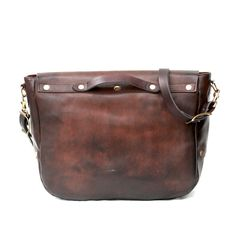 画像6: LETHER POSTMAN SHOLDER BAG d.brown