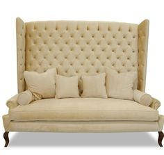32 Best Highback Seating images | Furniture, Decor, Settee