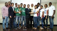 Universidades UNICA y UNPHU campeones balonmano