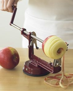 Need to get one of these, or I'm just stealing my mom's! Apples are so much more delicious this way.