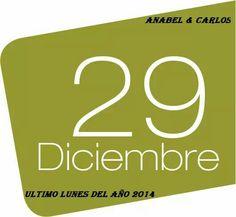 Hoy es lunes y te queremos dar.... Los buenos días!!!!  Ya que este es un lunes diferente, porque es 29 de diciembre y es el último lunes del año 2014.  Sigue leyendo aquí...http://blog.carlossanin.com/blog/un-regalo-para-fin-de-a%C3%B1o