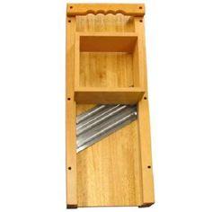 Weston Cabbage Shredder Large Wooden Cutter Board Triple Blade stainless steei #Weston