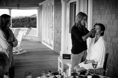 Emily Driscoll and Garret Overlock's Summer Wedding in Nantucket - Over The Moon Bridal Hair And Makeup, Wedding Makeup, Hair Makeup, Summer Wedding, Wedding Day, Nantucket Wedding, Over The Moon, Natural Makeup, Couple Photos