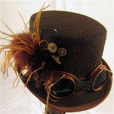 Find Your Perfect Steampunk Hat for Halloween   Halloween is coming up fast and it is always a great occasion to show off some Steampunk fashion. Of course, not all of us have a complete neo-Victorian ensemble just waiting to be doffed. Over the next week, we'll be looking at how to put together your perfect Steampunk Halloween costume.