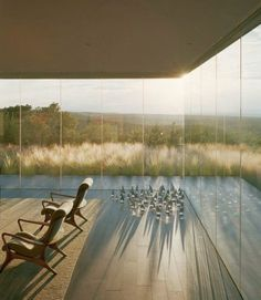 Santa Fe Glass House by Ohlhausen DuBois Architects - Pic 5 via Architizer