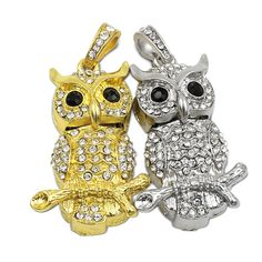 Best price on Golden / Silver Diamond Crystal Owl USB Flash Drive Memory Stick     Price: $ 21.80  & FREE Shipping     Your lovely product at one click away:   http://mrowlie.com/golden-silver-diamond-crystal-owl-usb-flash-drive-memory-stick/     #owl #owlnecklaces #owljewelry #owlwallstickers #owlstickers #owltoys #toys #owlcostumes #owlphone #phonecase #womanclothing #mensclothing #earrings #owlwatches #mrowlie #owlporcelain