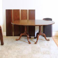 Henkel Harris Mahogany Single Dining Room By PrettyRuggedDesigns |  PrettyRuggedDesigns | Pinterest | Room