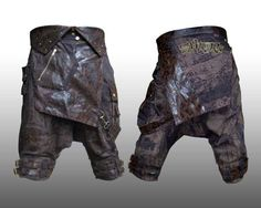 Guys : Pants : The Zuav Leather (Sarouel Pants) : ShamanElectro.com