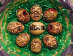 Dead Eggs - happy easter from http://caaboh.me - they have risen... Risen indeed.