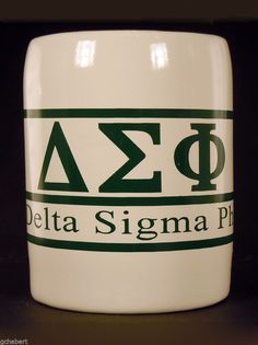 Delta Sigma Phi, ΔΣΦ, Fraternity Greek Letter/Name Kool Kan Koozie NEW