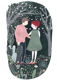 People - Mia Dunton Illustration