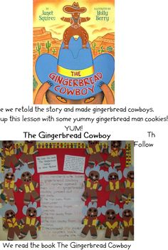 Texas Unit, book Gingerbread Cowboy