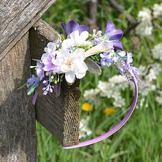 Čelenka do vlasov / Hydrangea - SAShE. Wreaths, Plants, Decor, Decoration, Door Wreaths, Deco Mesh Wreaths, Plant, Decorating, Floral Arrangements