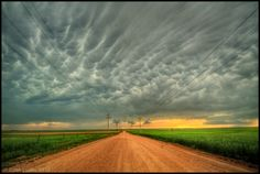 Death of a Storm II by FramedByNature on DeviantArt Mammatus Clouds, Peaceful Places, Storm Clouds, Rainy Days, Worlds Largest, Eye Candy, Death, Country Roads, Deviantart