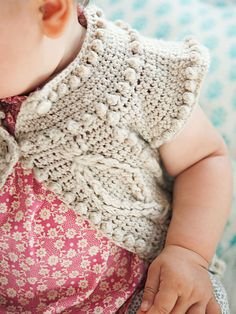 Sweet Eye Candy – Cleire Cardigan Crochet Pattern