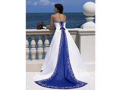 Alfred Angelo Cobalt Blue