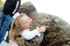A Michigan #NationalGuard #Soldier welcomed home by his daughter after a year in Afghanistan.