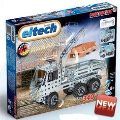 Ciężarówka z dźwigiem EITECH C301