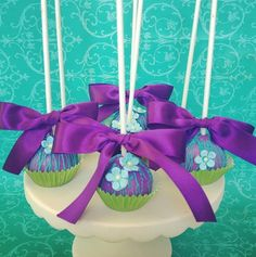 Fancy cake pops