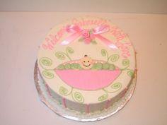Pink Sweet Pea Cake
