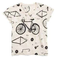 Linen Bicycle Tee - Madewell!