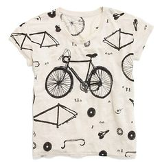 Linen Bicycle Tee - Madewell!