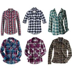 I will never have enough plaid shirts.