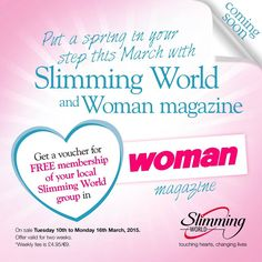 Slimming World Free Joining Voucher Offers