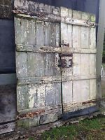 Old Wooden Doors Old Barn Doors Painted Wood Door