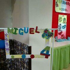 Festa PJMASKS do Miguel que fez 4 anos.         Reserve já a sua antes que a data não esteja disponível...