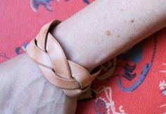Make a Magic Braid Leather Bracelet - Creativebug