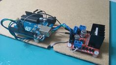 DIY Arduino Laser Scanner : 5 Steps (with Pictures) - Instructables Robotics Projects, Arduino Projects, Diy Projects, Backyard Projects, Diy Arduino, Arduino Board, Electronics Gadgets, Electronics Projects, Hobby Electronics