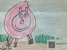 If I EVER get an iPad for my room - adding a QR code to artwork that takes you to a link of a kid telling a short story about his/her artwork would be SO AMAZING.   Think of the advocacy!!!