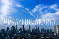 P R A Y F O R J A K A R T A   #prayforjakarta #prayforindonesia #staysafe #jakartaberduka #jakarta #jakartatidaktakut #morningvibes #vsco #instasunda #vscocam #bleachmyfilm #hometownpride #city #cityscape #peace #exploreindonesia #explorejakarta  #webstagram #panorama #photooftheday  #porncloud #jakarta by obettabuti