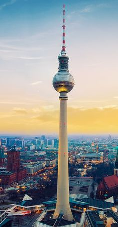 Berlin TV Tower Germany You are in the right place about best Europ Frankfurt, Munich, Berlin Germany, Berlin Photography, Germany Photography, Europe Destinations, Berlin Wallpaper, View Wallpaper, Monuments