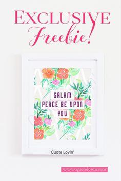 Free Islamic prints