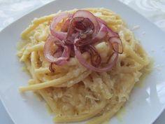 Rezept: Käse-Makkaroni mit Zwiebeln
