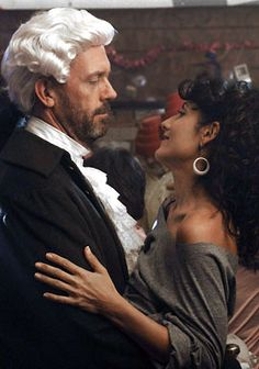 Dr. Gregory House, because shouldn't everyone wear powdered wigs to an 80's party?