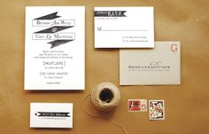 DIY Tutorial | Modern Banner Invitation Suite