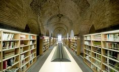 Les Aigues Library, Barcelona, Spain | http://writersrelief.com